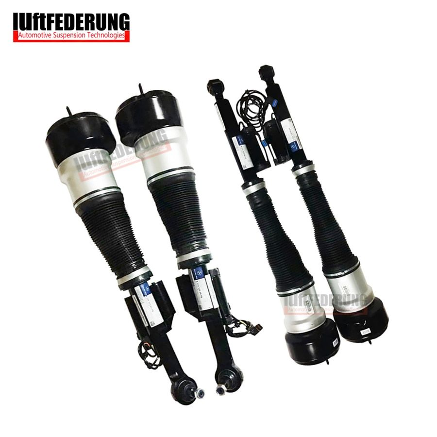 Luftfederung 4PCS Mercedes W221 4matic Front + Rear Suspension Air Spring Air Ride Assembly 2213200438(538) 2213205613(513)