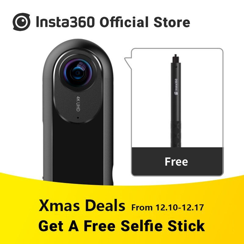 Insta360 ONE 360 Camera Sport Action Video Camera VR Panoramic Camera 24MP (7K) Photos 4K Videos for iPhone All Series
