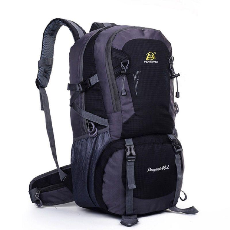 40L Climbing Bags Sport Camping <font><b>Backpack</b></font> Outdoor Waterproof Nylon Hiking <font><b>Backpack</b></font> Capacity Travel Bag Knapsack Lightweight EA14