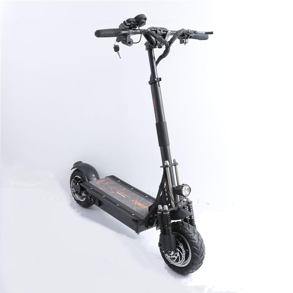 EU Lager UBGO 1005 Plus 52 V LG Batterie Doppel Fahrer Motor Leistungsstarke Elektrische Roller 10 Zoll E-Roller
