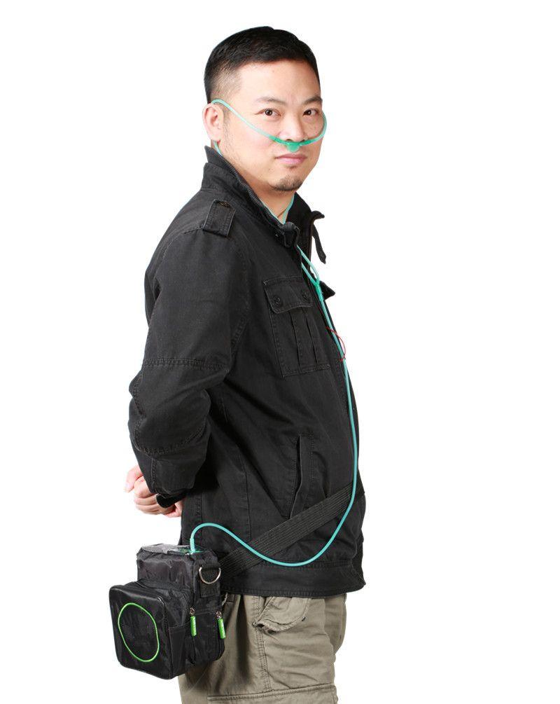 Gesundheitswesen DC12V Batterie Sauerstoffkonzentrator 110 V 220 V PSA Technologie Mini Tragbare Sauerstoffgenerator Sauerstoff, Der Maschine