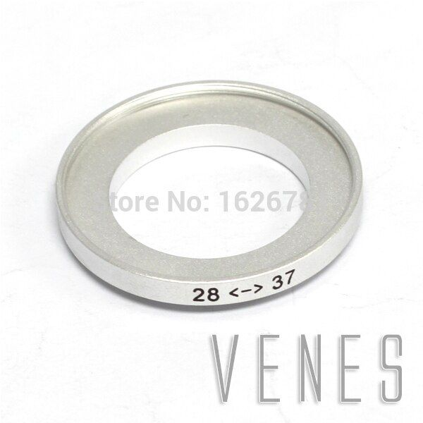 step up lens filter ring stepping adapter 28mm-37mm Step up Ring Filter Adapter / 28mm Lens to 37mm Accessory silver