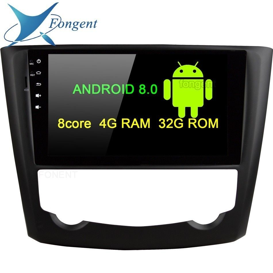 Android 8.0 4GB RAM 8core 32G Car DVD Player GPS Glonass Map RDS Radio wifi Bluetooth DVR Camera TV For Renault Kadjar 2015 2016