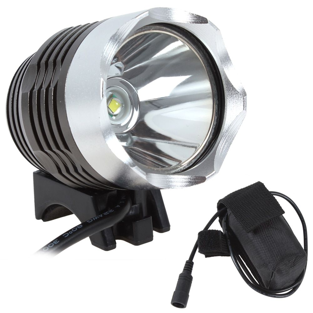 Sales Hot Sale! 1800 Lumen Super Bright XML T6 LED Bike Light Headlamp, Waterproof 3 Mode LED Bicycle Light Flashlight