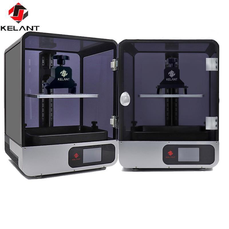 Kelant S400 LCD DLP 3D Drucker 8,9 zoll 2K laser 3d Drucker große Photon UV Harz SLA Licht- heilung 192*120*200MM impresora diy kit