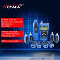 Оригинальный Noyafa NF-388 синий английская версия Многофункциональный сетевой Кабельный тестер кабеля трекер RJ45 lan тестер ЖК-дисплей дисплей