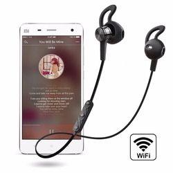 AKASO i8 Sports Bluetooth Headphone SweatProof Earphone Magnetic Earpiece Stereo Wireless Headset in ear for Mobile Phone
