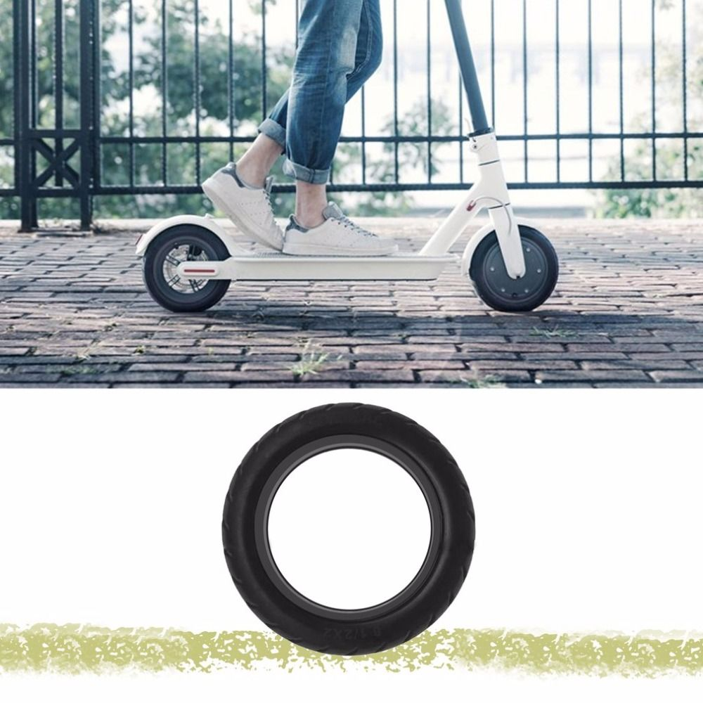 Solid Vacuum Tires 8 1/2X2 Micropores Suitable For Xiaomi Mijia M365 Electric <font><b>Skateboard</b></font> Scooter Non-Pneumatic Vacuum Wheel