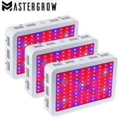 3 unids Diamond II 600 W 800 W 1000 W 1200 W 1500 W 1800 W 2000 W doble chip LED crecer luz espectro completo rojo/azul/UV/IR para plantas de interior