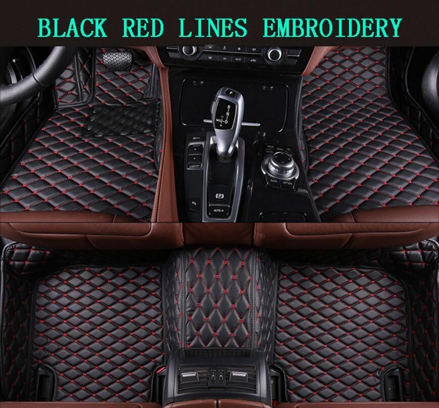 3D Luxury Slush Floor Mats Foot Pad Mat For Range Rover Vogue 2013 2014 2015 2016 2017 2018 (6colors) 4/5Seats FREE BY EMS