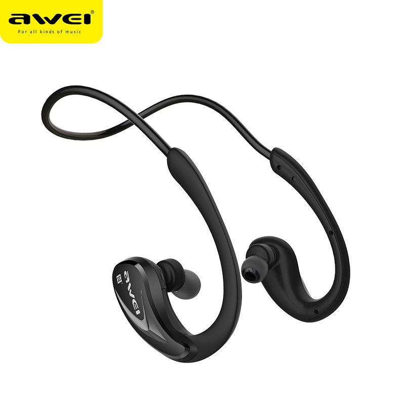 Awei A880BL Sweatproof Sports Bluetooth Headphone Wireless Earphone With Mic Headset fone de ouvido Neckband Auriculare