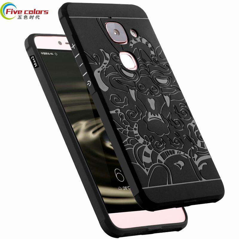 Letv LeEco Le Max 2X820 5.7 ''Cas Hight Qualité de luxe De Silicium Couverture Arrière Molle Téléphone Shell Pour Letv max 2