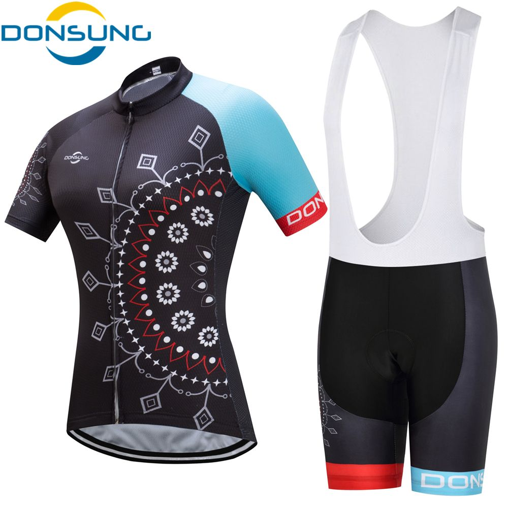 2017 Women Cycling Jerseys Pro Team Cycling Clothing Bib Shorts Breathable Quick Dry Bicycle Wear Maillot Ciclismo Bike Clothes
