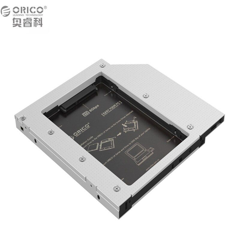 Universal Aluminum SATA 3.0 HDD Caddy/Enclosure/Case compatible for 5mm 7mm 9.5mm 12.5mm hard drive