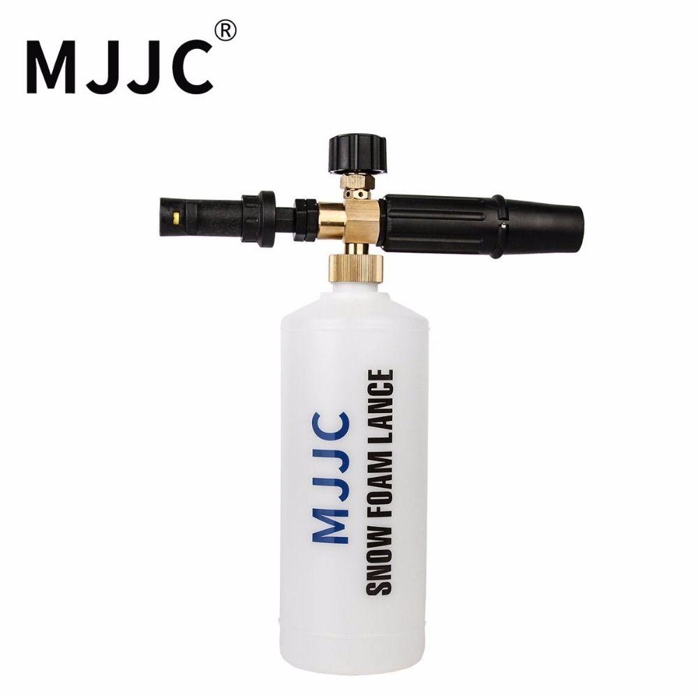 Mjjc бренд 2017 с высокое качество снег пена Лэнс с адаптером и соединительная трубка, пожалуйста, выберите правильный адаптер
