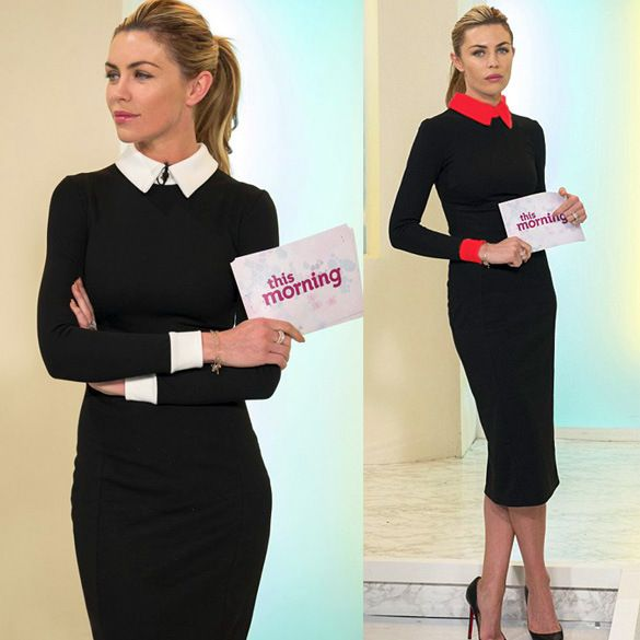 Vestido 2015 eté style femme travail robe OL solide complet formel silm robes de grande taille XXL vestido de festa