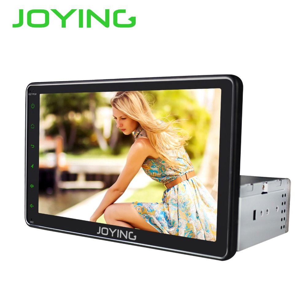 Joying 8 ''Android Auto Radio Stereo Einzigen 1 Din Universal Kopf Einheit GPS Navigation Kein DVD Player Unterstützung Subwoofer DVR Kamera