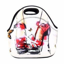 Nunca se desvanecen térmica Bolsas para comida refrigerador aislado almuerzo impermeable llevar fácil almacenamiento bolsa de picnic bolsa de alimentos mano