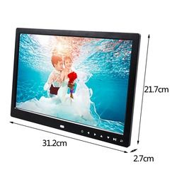 Multi-functional 13 Inch 1280*800 HD LED Digital Photo Frame High Resolution Digital Picture Frame Photo Album Frame