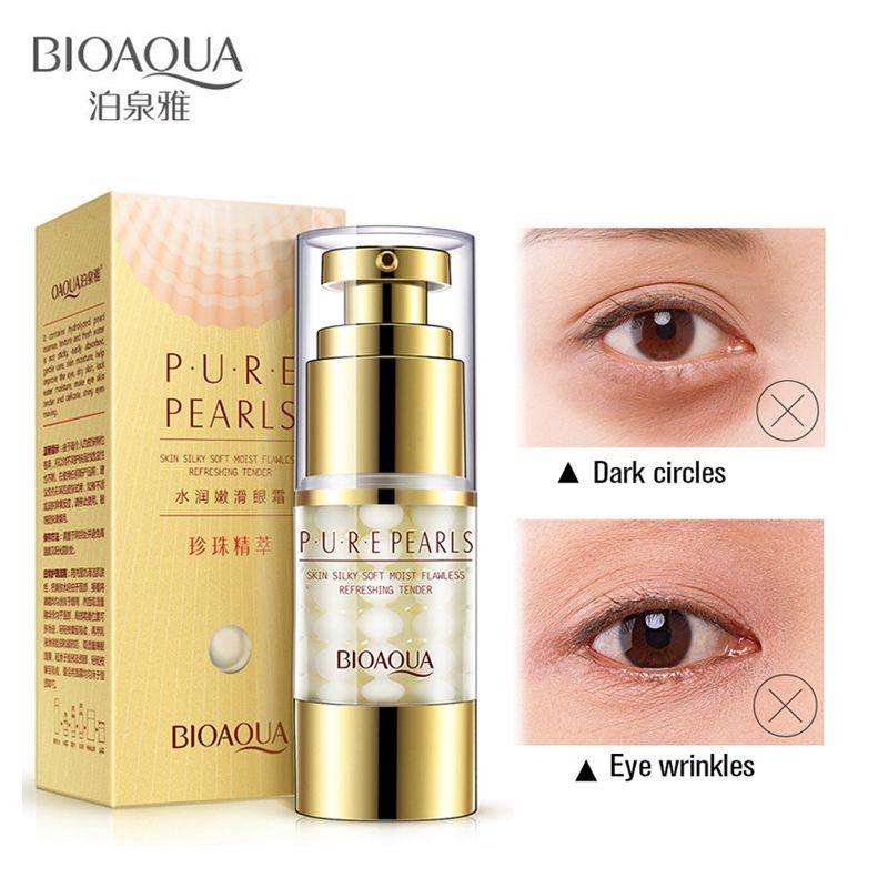 Bioaqua crème pour les yeux Anti-boursouflure collagène cernes et sacs pour les yeux crème ombre sacs à paupières enlèvement cernes dissolvant