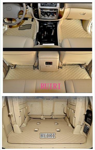 Gute qualität matten! Spezielle auto fußmatten für Lexus LX 570 7 sitze 2018-2008 langlebige teppiche teppiche für LX570 2014, freies verschiffen