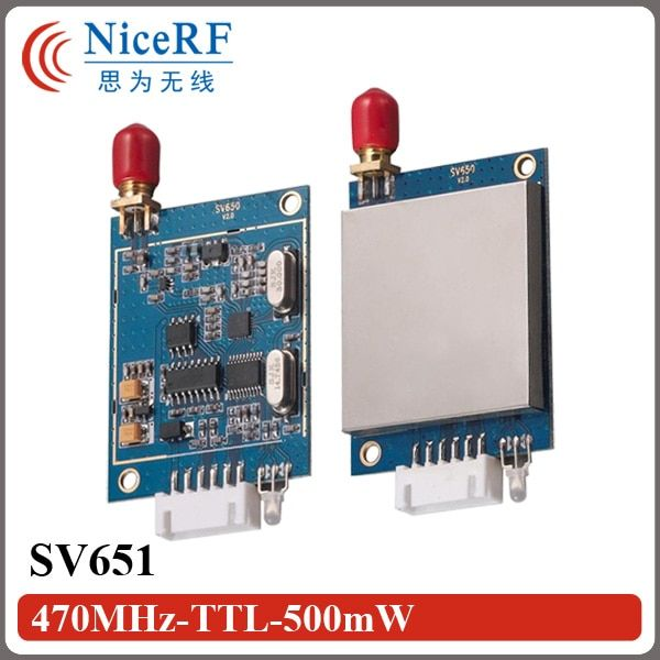 SV651 TTL Interface 470MHz Wireless Data Transmitter And Receiver RF Module