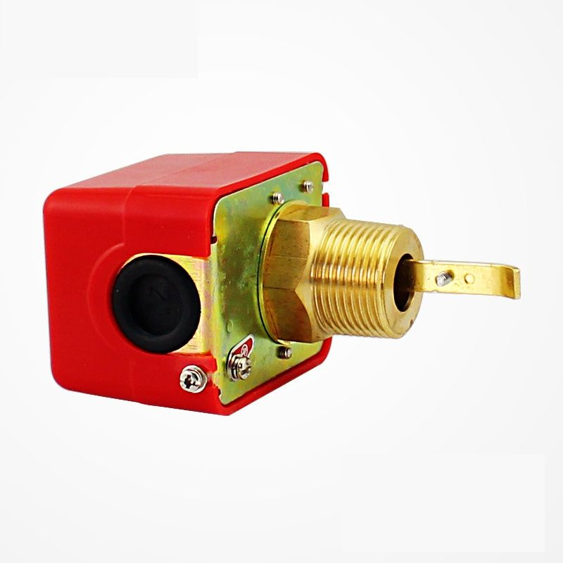 1 inch 1/2'' 3/4'' DN25 Male Thread SPDT Water Paddle Flow Switch HFS-25 for 220VAC 3A Water Flow Sensors Flow Paddle Water Pump