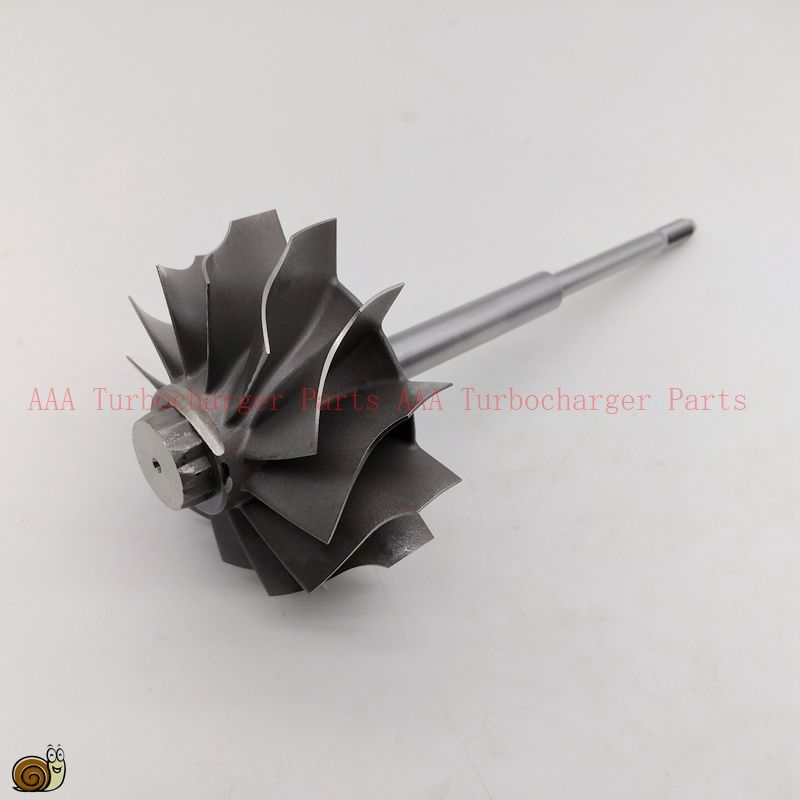 HX55 short shaft 1 groove, Turbine wheel 77x86mm-12blades,Turbo parts supplier by AAA Turbocharger Parts