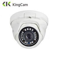 KingCam 2,8mm lente de gran angular de la cámara IP POE 1080 p 960 P 720 p de seguridad al aire libre Red ONVIF CCTV de vigilancia cúpula ipcam