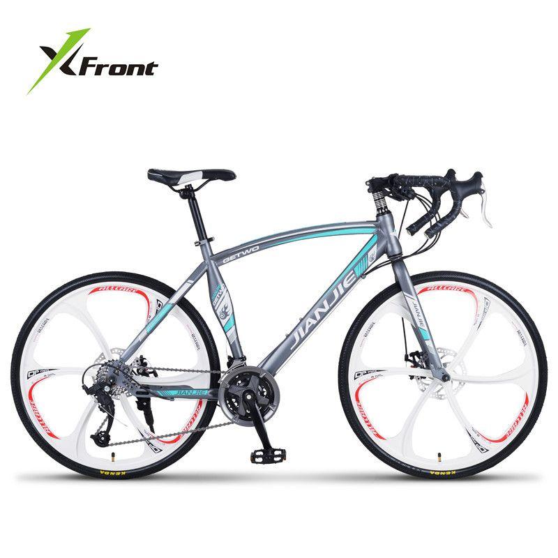 Neue Marke Rennrad Carbon Stahlrahmen 24/27/30 Geschwindigkeit Scheibenbremse Brechen Wind Radfahren Racing Fahrrad Outdoor-Sport Bicicleta