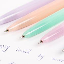Желе цвет Kawaii Шариковая ручка пластиковый пресс шариковая ручка школьные принадлежности канцелярские принадлежности Papelaria B-573F