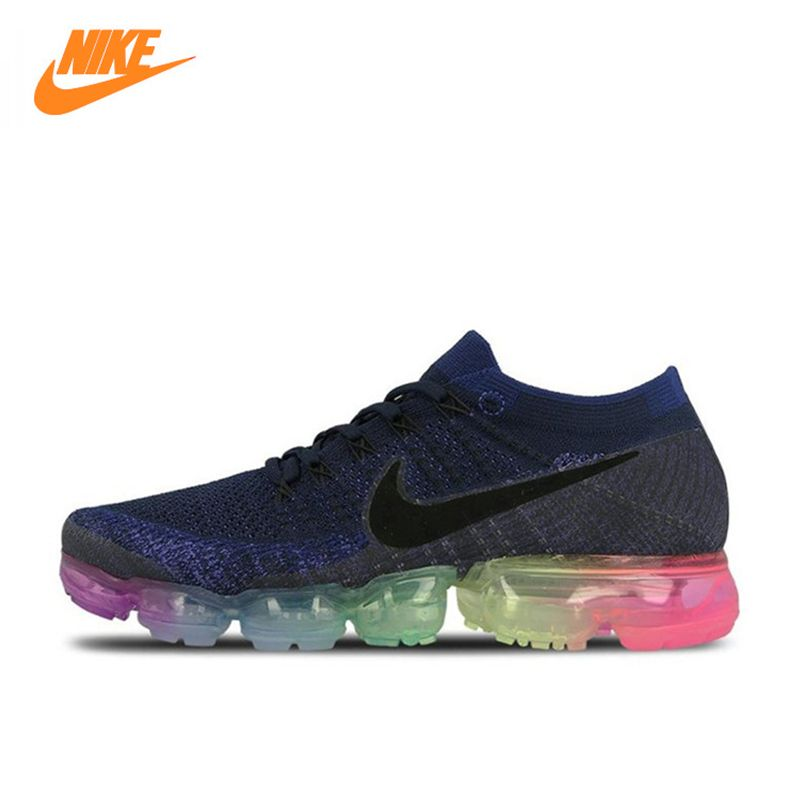 Nike Air VaporMax Be True Flyknit Breathable Men's Running Shoes,Original New Arrival Official Sports Sneakers Outdoor Athletic