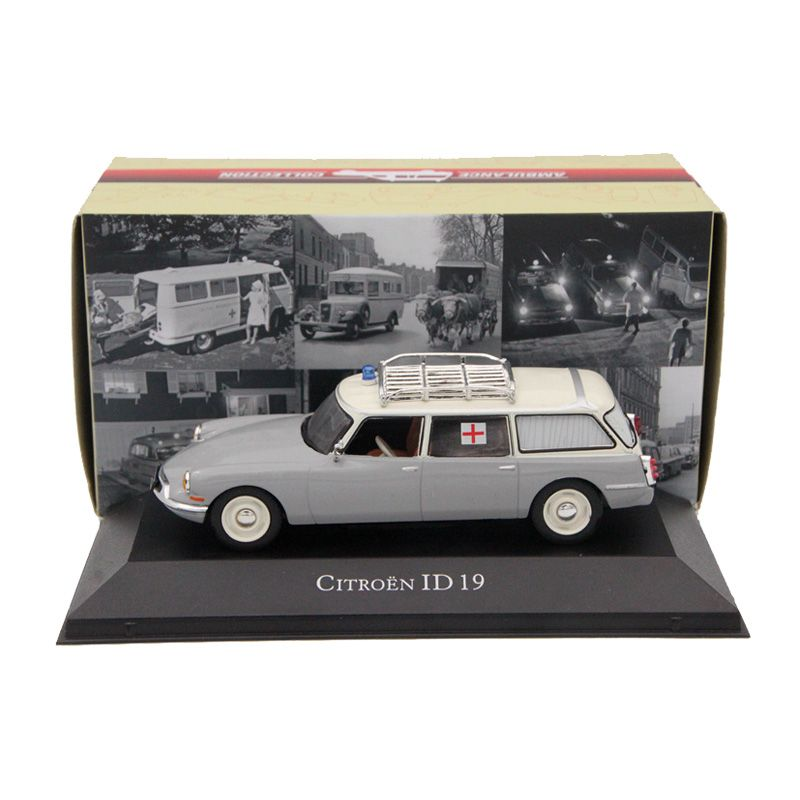 Atlas 1:43 Citroen ID 19 Ambulance Diecast Models Editions Toys Car Collection