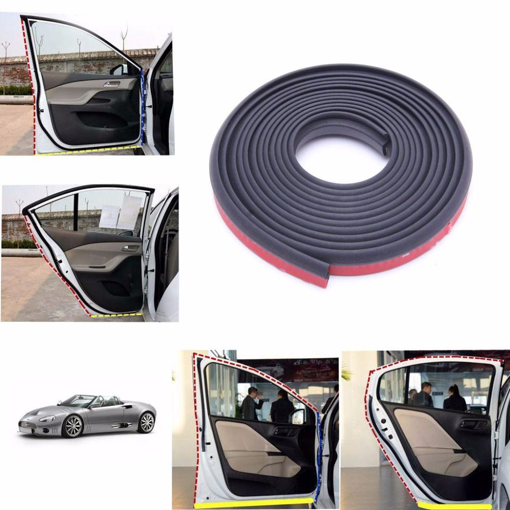 4 м Форма Z Двери Автомобиля Резиновые Погоды Уплотнения, Прокладки EPDM Звукоизоляции Уплотнитель