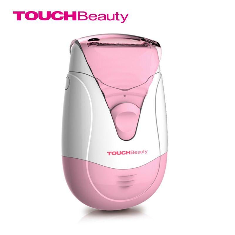 Touchbeauty frauen epilierer haarentfernung wasserdicht aaa batterie dual trimmer systeme enthaarung frühling haarentferner tb-0806