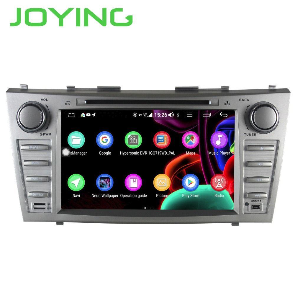 JOYING 2 DIN auto radio stereo-player Octa Core 8 autoradio 4 GB + 64 GB für Toyota Camry 2007-2011 unterstützung 4G DSP KEINE CD/DVD player