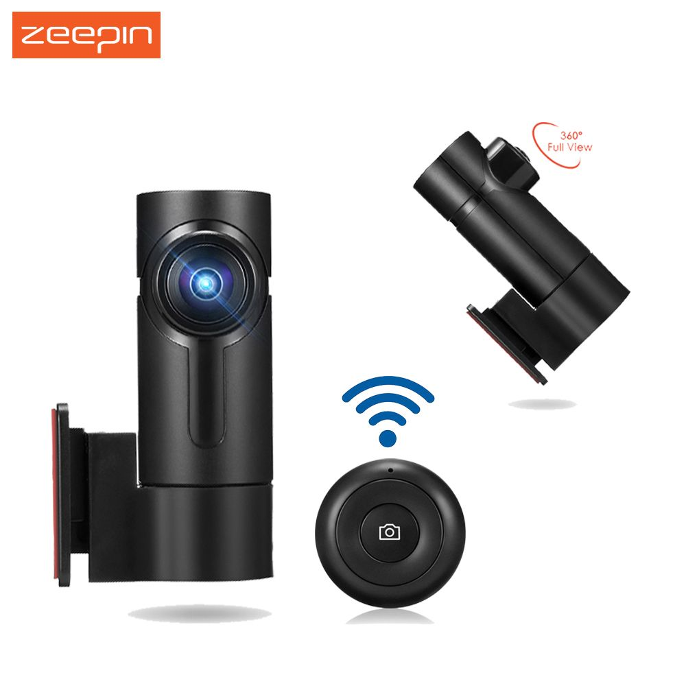 ZEEPIN WiFi G6 - 2S G6 Car DVR 360 Degree/170 Degree 1080P FHD View Dash Cam Support WDR Function Driving Recorder
