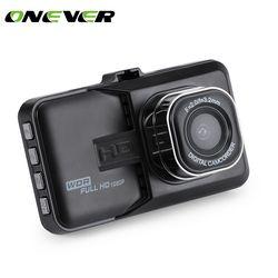 Dash Camera Car DVR Dash Cam Video Recorder LCD FHD 1080P Camcorder Night Vision / Motion Detection / Loop Recording 1.3MP 360*