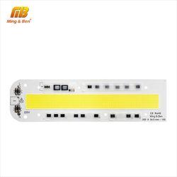 Светодиодный чип COB лампа бусины 30 Вт 50 Вт 70 Вт 100 150 W 220 V 110 V IP65 умная ИС (интеграционная схема) подходит для DIY светодиодный прожектор, точечны...