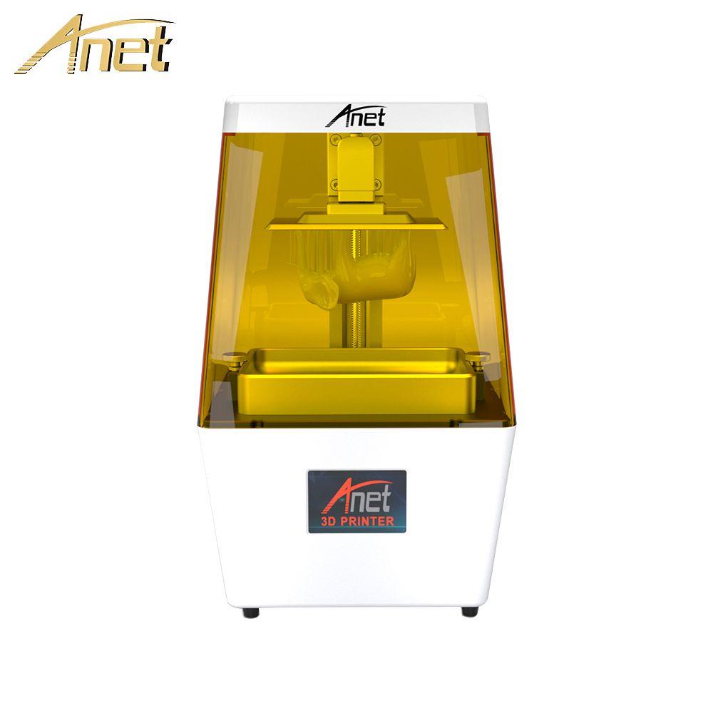 Anet 3D Drucker N4 Ultra Hohe Präzision 40um SLA UV Harz Lichtempfindliche Licht-Heilung Desktop Impresora 3D Drucker Drucker