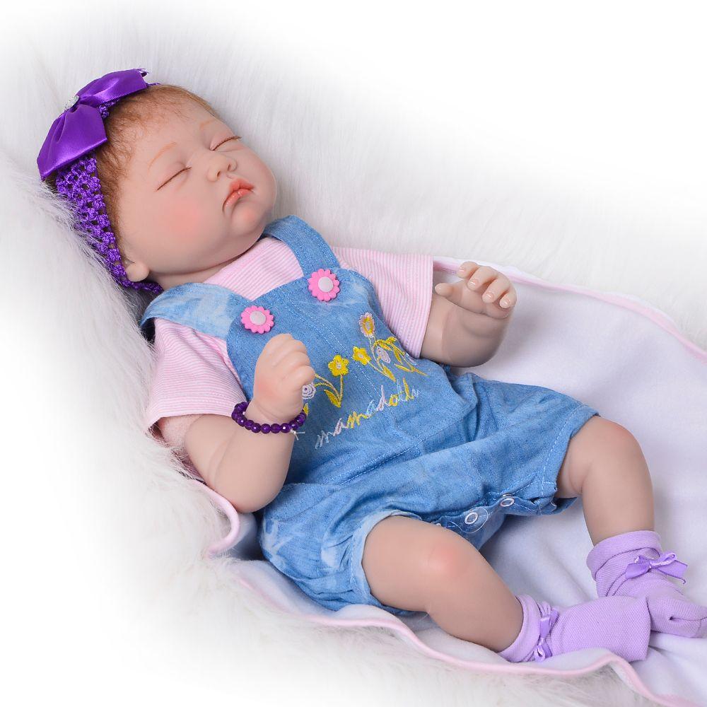 Safe Soft Silicone Vinyl Baby Dolls Reborn 22