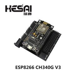 ESP8266 CH340G NodeMcu V3 Lua Wireless WIFI Module Connector ESP32 Development Board ESP12E Micro USB ESP8266 CP2102 Based L293D