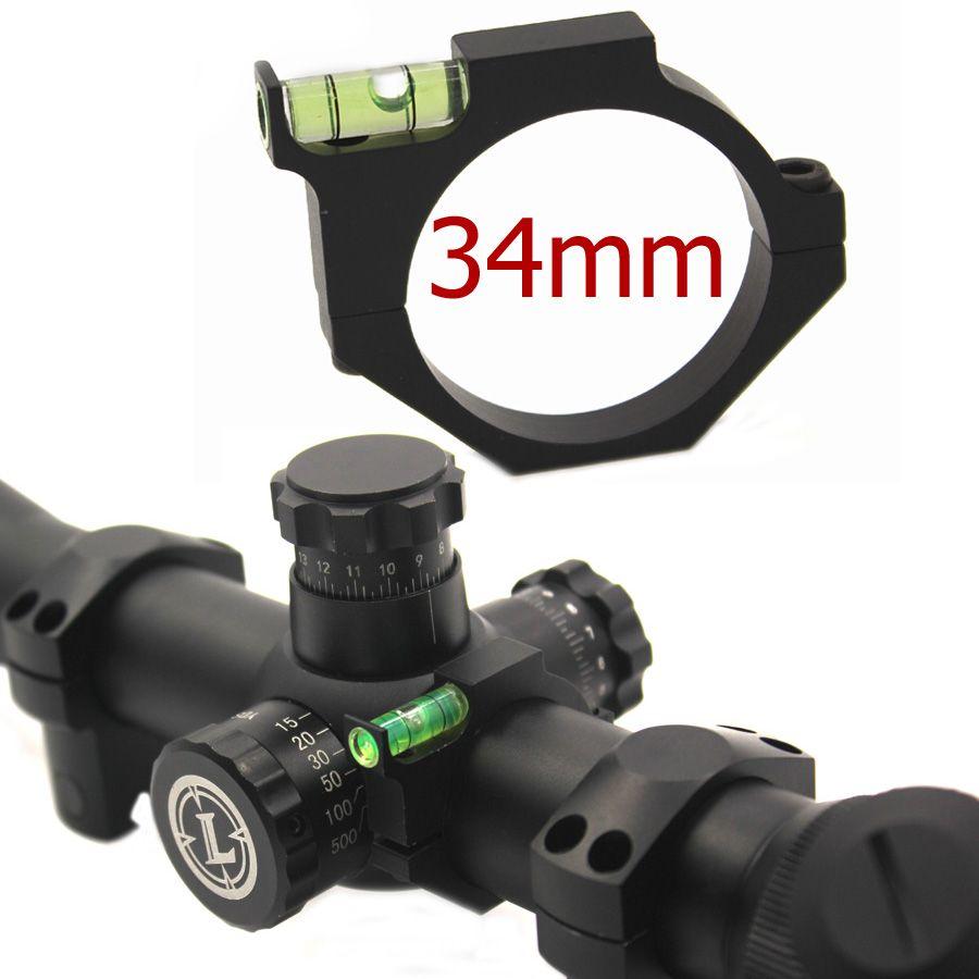 Portée de fusil de 34mm 35mm dispositif Anti-dévers anneaux de montage de niveau à bulle accessoires de chasse en gros