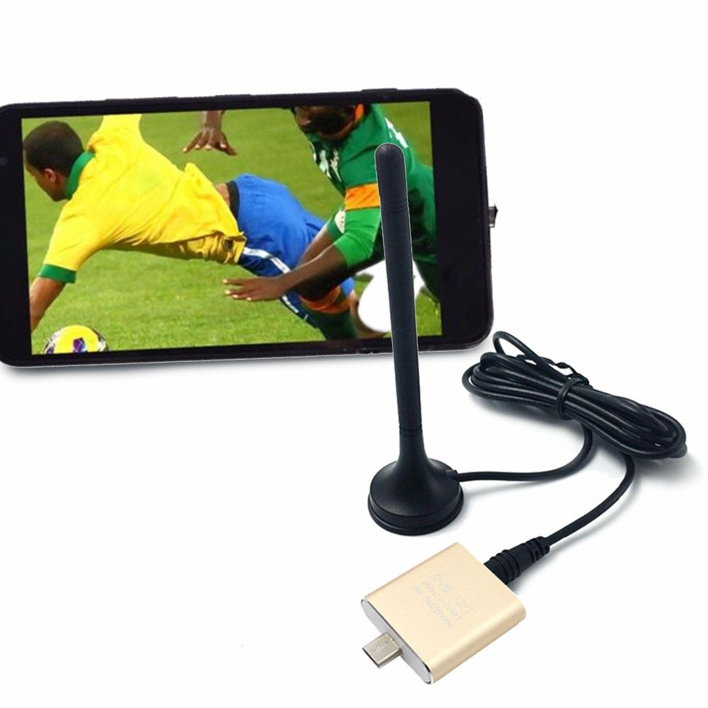 DVB-T2/T TV Receiver Digital Satellite TV Stick Dongle USB TV Tuner for Android 4.1 Support MPEG-2 and MPEG-4/H.264 Video