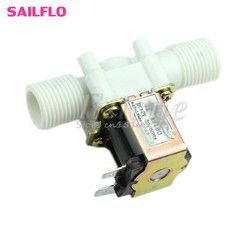 Hot Electric Solenoid Valve Magnetic DC 12V N/C Water Air Inlet Flow Switch 1/2