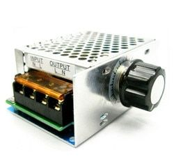 4000W high power thyristor electronic voltage regulator for dimming control air-conditioning shells with insurance