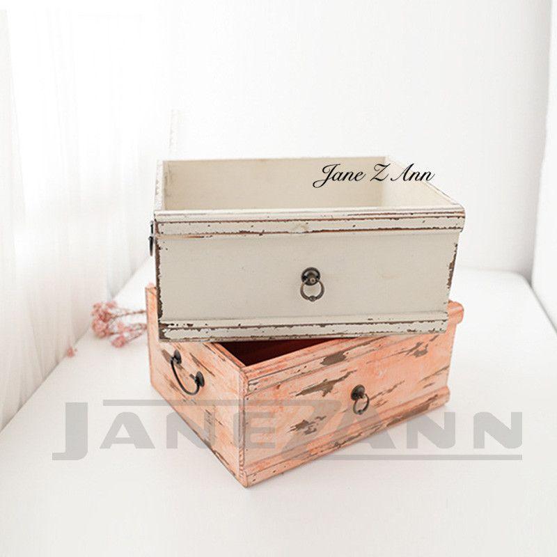 Jane Z Ann Newborn Photo Props infant drawers basket photo picture shoot assistant box studio accessories