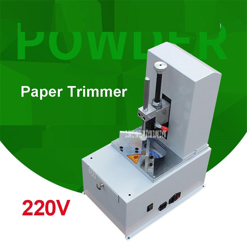 Electric Round Corner Machine R3-9 Knife Paper Trimmer Automatic Fillet Paper Cutter Machine Speed 1400r/min New Genuine 220V