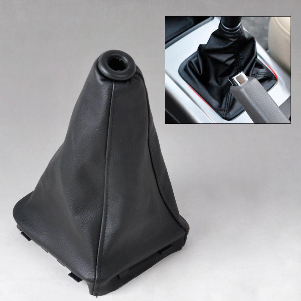 CITALL New PU Leather Gear Stick Shift Knob Cover Boot Gaiter For Hyundai Elantra / Avante XD 2000 2002 2003