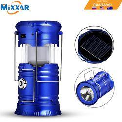 EZK20 дропшиппинг светодиодный кемпинг фонари Фонари складной солнечная палатка свет шестерни оборудования для наружного для чрезвычайных с...